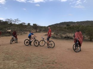 Voorbeeldreis Kenia - Fietsen met kinderen - Kenia