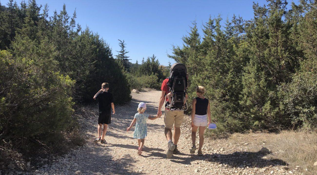 Op reis met kinderen naar Cyprus