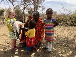 Op reis met jonge kinderen naar Kenia