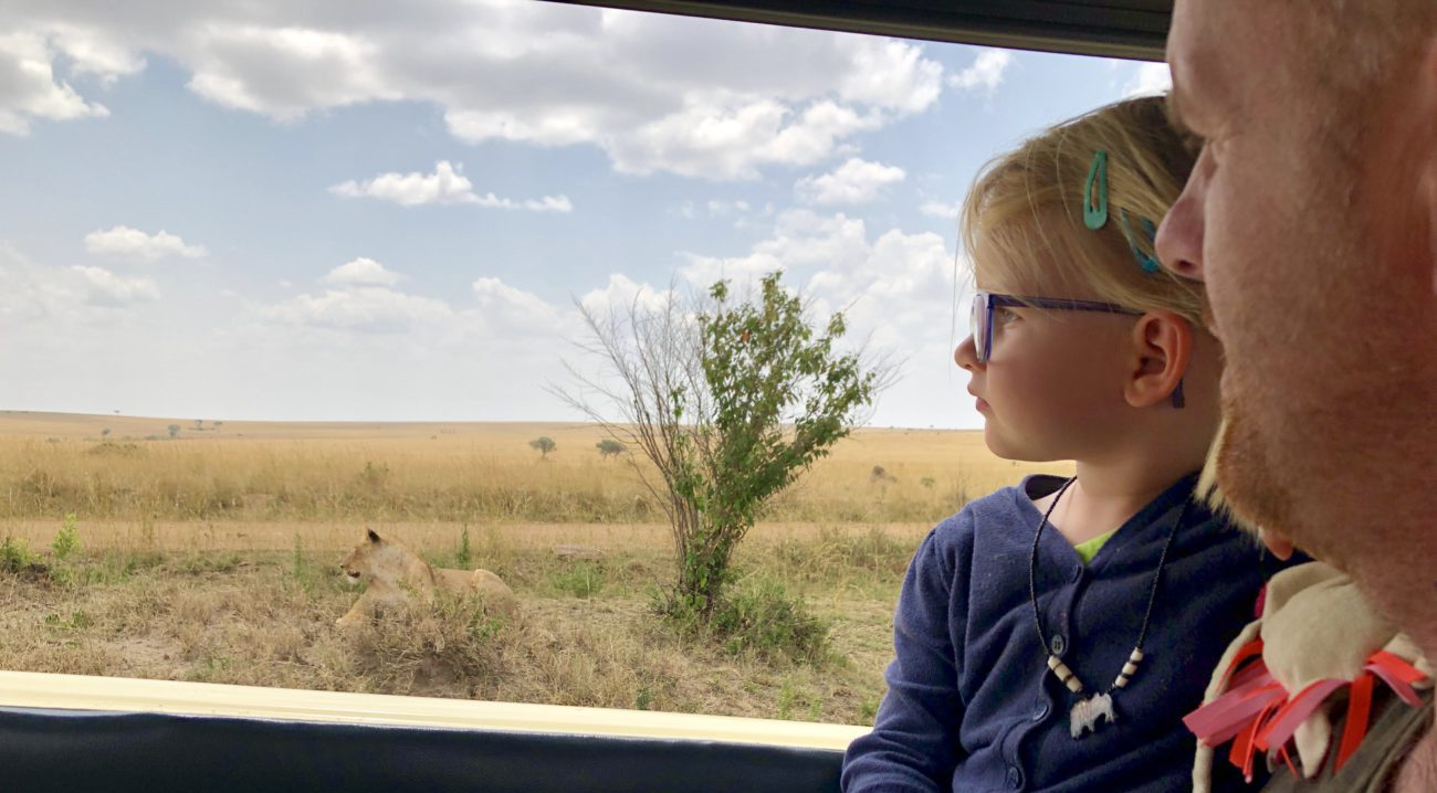 Travel with young children - Kenia